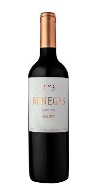 benegas estate malbec bottle