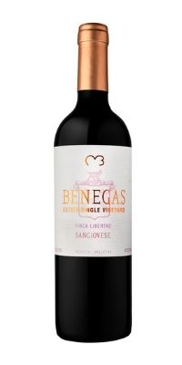 benegas sangiovese bottle